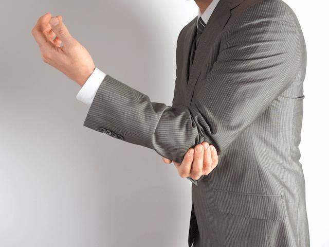 肘の痛み・手の痺れ