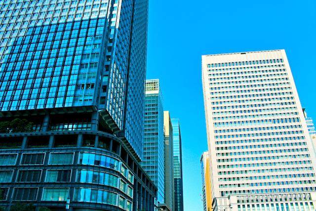高層ビル群